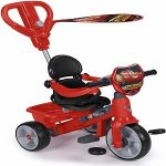 triciclo evolutivo cars marca feber color rojo