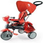 triciclo evolutivo qplay color rojo