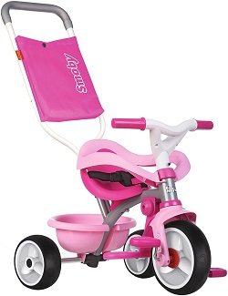 triciclo smoby rosa
